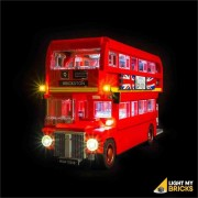 LIGHT MY BRICKS Kit for 10258 London Bus