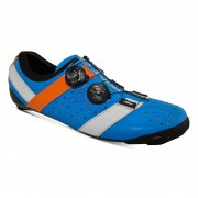 Bont Vaypor + Road Shoes - EU 47 - Blue/Orange