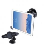 Shop4 - iPad Mini 3 - Autohouder Raam Tablet Houder Zwart
