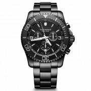 Victorinox Maverick Black Edition Cronógrafo Reloj de buceo acero inoxidable