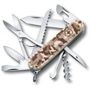 Victorinox Huntsman, 91 Mm, Desert Camouflage, Folding Box Swiss Army Knife