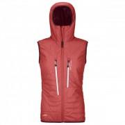 Ortovox - Women's Swisswool Piz Boè Vest - Gilet en laine mérinos taille L, rouge/rose