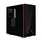 Gabinete Corsair Carbide SPEC-06 LED Rojo Vidrio Templado 2 Ventiladores USB3 Negro CC-9011144-WW