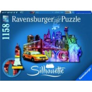 PUZZLE CONTUR ORIZONT NEW YORK 1158 PIESE Ravensburger