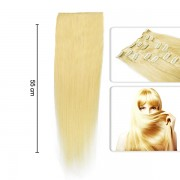 Extensii DeLuxe clip on - Blond Auriu