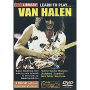 Roadrock International Lick library - Van Halen Learn to play (Guitar), DVD