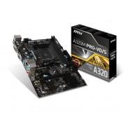 Matična ploča MB AMD AM4 MSI A320M PRO-VD/S, PCIe/DDR4/SATA3/GLAN/7.1/USB 3.1