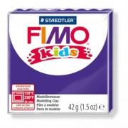 Gyurma, 42 g, égethető, FIMO Kids, lila