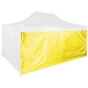 Bočná plachta 4,5m - hexagon, Žltá