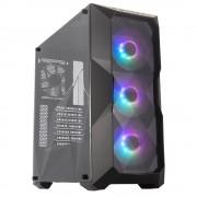 Gabinete Cooler Master Masterbox TD500 ATX / sin fuente / negro / ARGB, MCB-D500D-KANN-S01
