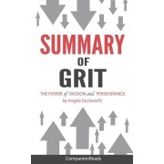 Summary of Grit: The Power of Passion and Perseverance by Angela Duckworth, Paperback