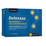 Vitalart immunity defenses and respiratory tract 15 tablets