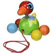 Vilac Pull Along Toy Island Bird