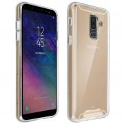 Avizar Funda Colección Cristal Transparente para Samsung Galaxy A6 Plus