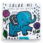Wee Gallery Livre de Bain Color Me - Who's in The Water