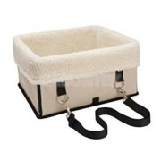 ELECTROPRIME® Easy to Fold Carry Dog Crate for Indoor/Outdoor Seat Booster Carrier Beige M