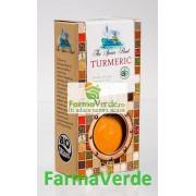 Condiment Turmeric Macinat 40 Gr Bio Longevita Solaris Plant