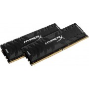Memorija Kingston 8 GB Kit (2x4 GB) DDR4 3000 MHz HyperX Predator Black, HX430C15PB3K2/8