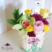 Gentuta flori multicolore CF017