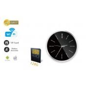 FULL HD kamera s WiFi v nástenných hodinách + pohybový senzor