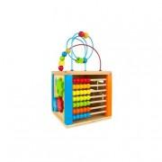 COLOR BABY Play & Learn - Cubo de Actividades de Madera