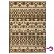 vidaXL Unutarnji/vanjski ukrasni tepih s izgledom sisala 160x230cm folklorni uzorak
