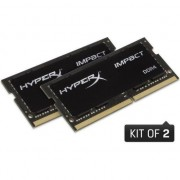Memorie Kingston HyperX Impact, DDR4, 32GB (2x16GB), 2400MHz, CL14, SODIMM