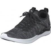 Puma Ignite Flash Evoknit Puma Black-asphalt-puma White, Skor, Sneakers & Sportskor, Löparskor, Svart, Herr, 45