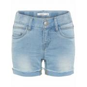 Name It! Meisjes Korte Broek - Maat 98 - Denim - Jeans