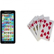 EXCLUSIVE p1000 kids EDUCATIONAL tablet + playing cards free