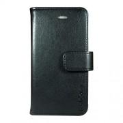 Radicover Mobilcover iPhone 5/5S/SE sort Fasion , PU læder, flipside - 1 Stk