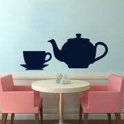 Teáskanna és csésze