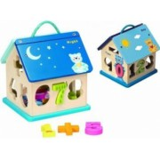 Jucarie educativa Baby Mix Casuta Day and Night