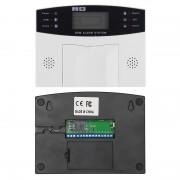 Système de sécurité à domicile - Affichage à 2,5 pouces, détection de mouvement PIR 4x, détecteur de fumée, capteur de fenêtre 10x, alarme SMS et appel
