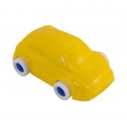 Minimobil Miniland, 9 cm, model masina, galben