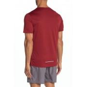 Nike Miler Dri-FIT Running Shirt 681 NGTMRNREFSIL