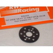 RW 64X76T 76 Tooth Xray T2, T3, T4 Offset Supa-lite Spur Gears 64dp
