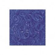 Elastice Rainbow Loom - Jelly Albastru-ocean-600 buc