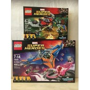 LEGO Super Heroes The Milano vs. The Abilisk & LEGO Super Heroes Ravager Attack by Super-Heroes