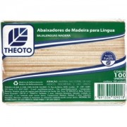 Abaixador de Madeira Para Língua c/ 100 Unidades