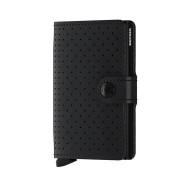 Secrid Mini Wallet Portemonnee Perforated Black