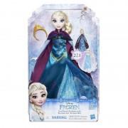 Papusa Elsa cu Rochita 2 in 1 Disney Frozen Hasbro