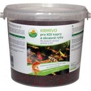 Proxim krmivo pro Koi kapry a okrasné ryby 3mm 5l barevné plovoucí granule