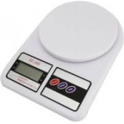 Shopo Digital LCD Kitchen Weight Machine Weighing Scale(White)
