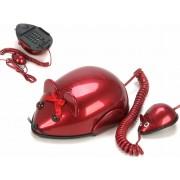 Telefon in forma de soarece - rosu