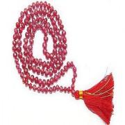 Ruby Mala (Manik) Stone Natural Lab Certified Stone Jaipur Gemstone