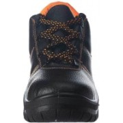 INDIA GIFTS MALL Safety Shoe Black With Steel Toe Lace Up For Men(Black)