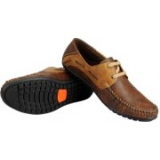 MOONSTER Stylish And Trendy Mens And Boys Loafer Loafers For Men(Brown)