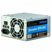Power Supply INTER-TECH Booster SPS-520 AC 115/230V, 50/60Hz, DC 3.3/5/±12V, 520W, Retail, Passive PFC, 1x80 IT-SPS520W