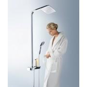 Set de dus Hansgrohe gama Raindance Select E 360, 1 functie Showerpipe, crom/alb